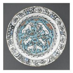 Plat aux 6 animaux - Musée national de la Renaissance (Ecouen)