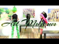 How to Make a Doll Art Gallery | Plus Apartment - Doll Crafts - YouTube