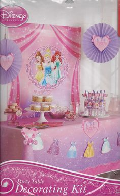 AmazonSmile: Disney Princess Party Decorating Kit: Toys & Games