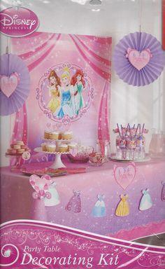 AmazonSmile: Disney Princess Party Decorating Kit: Toys & Games