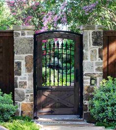 Iron Garden Gate Design Ideas, Pictures, Remodel And Decor