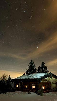 Winter night sky #iPhone 5s #Wallpaper Download | iPhone Wallpapers, iPad wallpapers One-stop Download