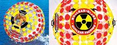 SportsStuff Nuclear Globe - 6 Foot Walk On Water Inflatable Ball