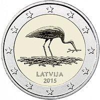Erikoiseurot Latvia 2 €