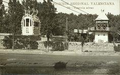 Exposición Regional Valenciana (1ª. 1909. València)   Tranvia aéreo [Material gráfico] / Exposición Regional Valenciana ; Andrés Fabert, editor fotógrafo. — Valencia : Andrés Fabert, [s.a.]  1fot. (tarjeta postal) ; 8'5 X 13'5 cm. — (98)