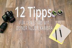 Du hast eine neue Kamera und brauchst Hilfe? Wir haben für dich 12 Tipps für den Start mit deiner neuen Kamera zusammengestellt. Viel Spaß!