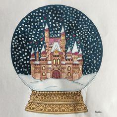 My coloring Johanna Basford Johanna's Christmas