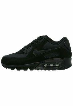 Air Max 90, Sneakers, Essentials, Black, Nike Sportswear, Tennis Sneakers,  Slippers, Black People, Trainer Shoes