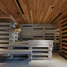 Hotel Hotel Lobby and Nishi Grand Stair Interior / March Studio