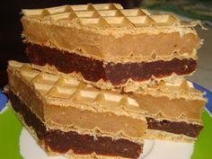 Obllanda me krem - Receta + Fotografi Brze Torte, Kolaci I Torte, Sweet Recipes, Cake Recipes, Dessert Recipes, Cake Cookies, Cupcake Cakes, Cupcakes, Cream Cheese Flan