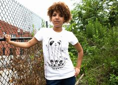 """Fake Pandas Have More Fun"" by R G on women's t-shirts | Threadless"