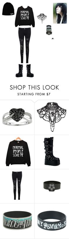 """""""AWESOME OUTFIT"""" by blackveilkilljoy ❤ liked on Polyvore featuring Ice and River Island"""