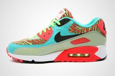 NIKE AIR MAX 90 (MINT/INFRARED)