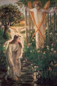 Dante Gabriel Rossetti - The Annunciation