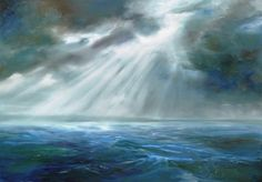 """""""The Promise"""" #oiloncanvas 3'x4'.  #painting on its way to live in Somerset  www.sjbart.com"""
