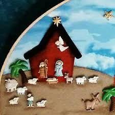 Resultado de imagen para pesebres de botones Decor Crafts, Holiday Crafts, Holiday Decor, Mary And Jesus, Christmas Decorations, Christmas Ornaments, Christmas Ideas, Holy Night, Button Crafts