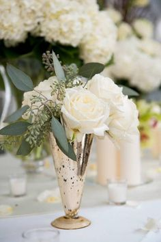 Organic Green, Silver Mercury & Blush Wedding Inspiration: Colour Ideas