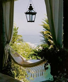 hammock with a view, if South Florida didn't have so many lizards, I would have one in a heart beat!