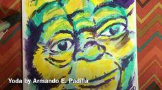 Yoda Painting by Armando E. Padilla