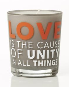 Love is the cause of unity in all things. Greek Words, English Words, Scented Candles, Jasmine, Unity, All Things, Designers, Greek Sayings