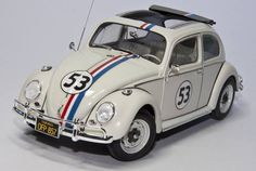 VW 1300 Beetle 1963 - Herbie - Tamiya 1/24 scale