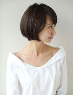 大人可愛い髪ショートボブ(SY-522) | ヘアカタログ・髪型・ヘアスタイル|AFLOAT(アフロート)表参道・銀座・名古屋の美容室・美容院
