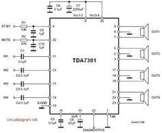 BA5406 10W Stereo Power Amplifier Power Amplifier