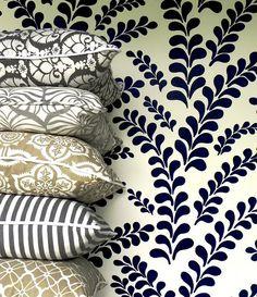 Pillows from Katherine Rally Textiles