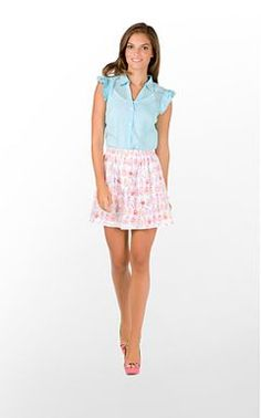 Love this cute spring Lilly look!