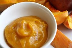 butternut squash and peach puree