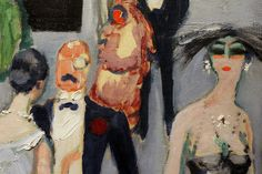 "Kees van Dongen ""Hall of Casino"" (detail) 1920 Oil on canvas From the Matsukata collection"