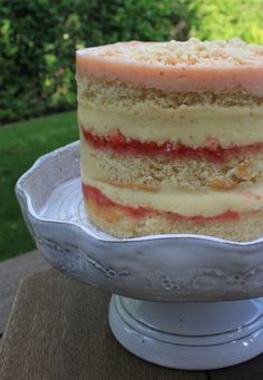 Momofuku Milk Bar Strawberry Lemon Layer Cake