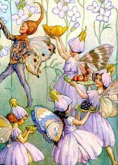 fairy parade  by Margaret Tarrant
