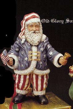 Old World Santa USA Santa American Santa by TSoriginals on Etsy
