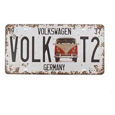 Wall Bar, Tin Signs, Metal Tins, Mk1, Vw Beetles, Tee Design, Volkswagen, Germany, Wall Decor