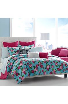 Betsey+Johnson+Bedding+'Boudoir'+Comforter+Set+available+at+#Nordstrom