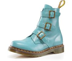 Dr. Martens! in Robin's egg blue!
