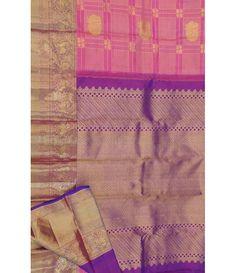 Pink Pure Silk Handloom Kanjeevaram Zari Saree---  If a traditional south-Indian saree  is your style, a rich Kanchivaram silk saree  is a great choice. For details click here ----  http://luxurionworld.com/kanjeevaram-Kanchipuram-pure-silk-sarees/LWKPSTH016_Pink_Pure_Handloom_Kanjeevaram_Silk_Saree.html