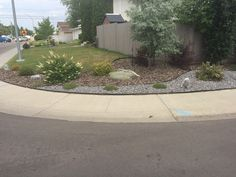 Here is one of our more recent jobs done in Edmonton/surrounding area. It looks so good! Beautiful Landscapes, Landscaping, Sidewalk, Patio, Gallery, Check, Outdoor Decor, Home Decor, Decoration Home