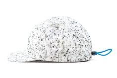 Image of Patrik Ervell 2013 Spring/Summer Black  White Granite Print Sport Cap