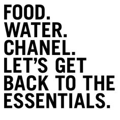 only the essentials