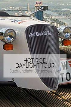 Eine Stadtrundfahrt der anderen Art, in einem Fahrzeug, das es so noch nie gegeben hat. Best Wordpress Themes, Hot Rods, Tours, City, Vehicles