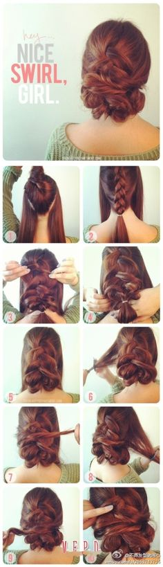 This hair swirl is amazing