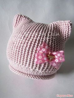 This Pin was discovered by jar Crochet Mittens Pattern, Baby Hat Knitting Pattern, Baby Hats Knitting, Crochet Yarn, Knitted Hats, Knitting Patterns, Diy Crafts Knitting, Crochet Projects, Softies