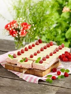 4 glutenfria kakor i långpanna