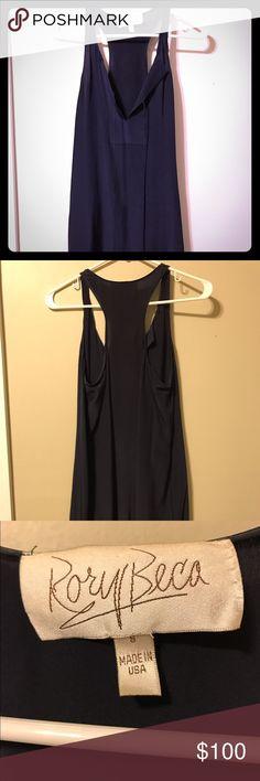 Rory Beca navy silk mini dress size small Rory Beca 100% silk mini dress in Navy. Size small. Never worn Rory Beca Dresses Mini