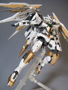 "Custom Build: MG 1/100 Qan [T] Quanta ""Quanta Chan"" - Gundam Kits Collection News and Reviews Gundam Exia, Gundam Astray, Gundam 00, Gundam Wing, Mythological Monsters, Gundam Toys, Gundam Mobile Suit, Gundam Custom Build, Gunpla Custom"