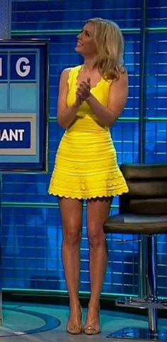 Those legs! Great Legs, Nice Legs, Beautiful Legs, Beautiful Models, Rachel Riley Legs, Racheal Riley, Short Skirts, Mini Skirts, Tv Girls