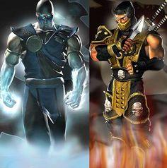 Mortal Kombat Cyber Ninjas | The Best Of: Video Game Ninjas | GameZone
