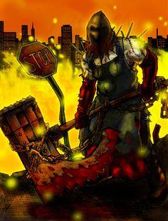 Resident evil monsters   Executioner Ketchup Monster: Resident Evil Contest @ Basil The ...